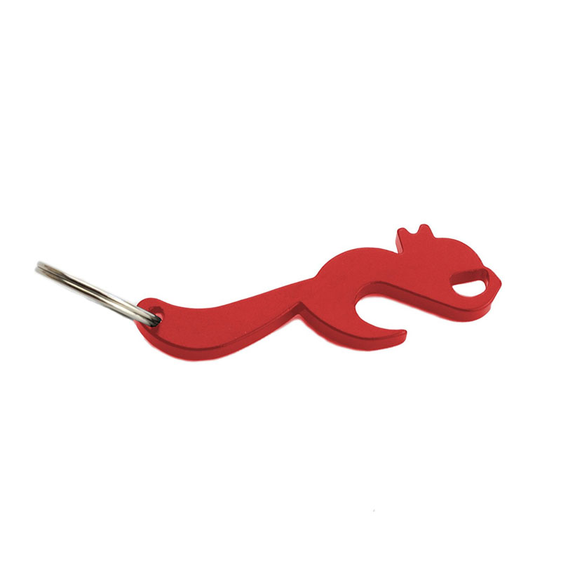 Squirrel Shape Bottle Opener Animal Key Chain