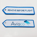 Design your own remove before flight keychain custom