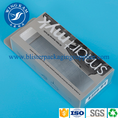 Custom Rectangle Shape Plastic Box for Electric Products