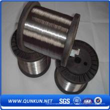 Feito no fio de aço inoxidável fino de China 0.5mm