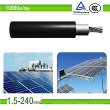 TUV Certificado Solar Cables PV1-F PV Estañado Cobre Fotovoltaico Cable
