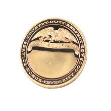 Idéias do presente do negócio da moeda gravada lembrança do uso Collectible