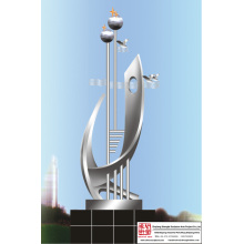 Outdoor Stainless Steel Sculpture