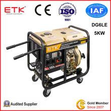 Open Frame 5kw Home Use Diesel Power Generators (DG6LE)