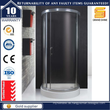 Badezimmer Fiberglas Quadrant Custom Duschen Glas-Gehäuse