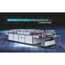 Machine de vernissage UV SGZ-A-1200 (vernis UV)