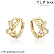 Les prix de l'usine les dernières conceptions de boucles d'oreille d'or 14k pour les femmes de sexe et la photo d'animal