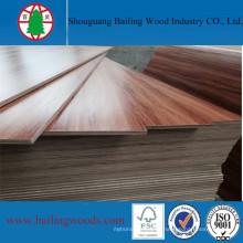 Меламин деревянного зерна Цвет фанеры для мебели высокого качества