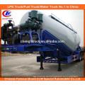 Vrac Ciment Remorque Citerne Avec Luftkompressor Anhänger
