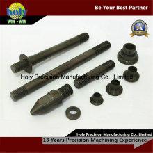 Черный оксид токарного станка CNC подвергая механической обработке CNC стали подвергая механической обработке