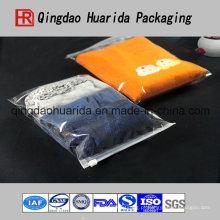 Vestuário de alta qualidade com saco de roupas com zíper