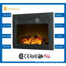 """34 """"insert classique cheminée électrique grand réchauffeur de pièce 110-120V / 60Hz"""