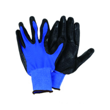 13G Blue U3 Polyester Glove with Nitrile Coated