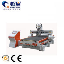 Wood door cutting and engraving machine