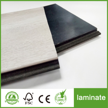 Czarny 8 mm mdf Emboss Laminate Flooring