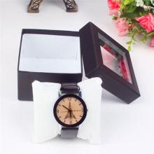 Caixa de presente personalizada do relógio do empacotamento da impressão a cores