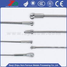 W1 dia 3.0mm tungsten steel wire rope