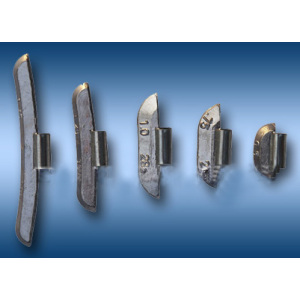 Pb Clip-on Balance Weight for Steel Wheel (model A)