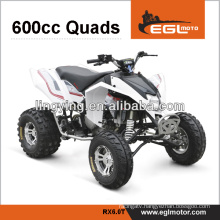 CE approved plastic body 600cc ATV for sale