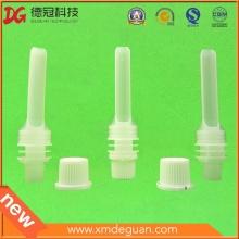 Boca de plástico de grado alimentario de 10 mm con tapa Fabricante