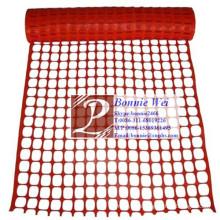 Orange safety rigid plastic mesh