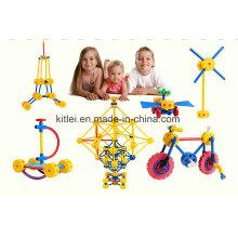2016 neue Großhandel ABS Material Pädagogisches DIY Baustein Spielzeug