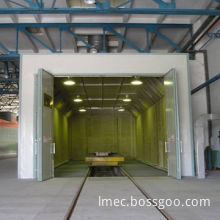 Sand Blasting Room for Sand/Shot Blasting and De-rusting of Underframe of Railway Rolling Stock