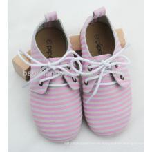 Hochwertiges hübsches Mädchen und Junge Gummisohle oxford Schuhe