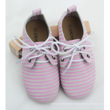 High quality pretty girl and boy rubber sole oxford shoes