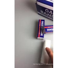 bandage en gros de gaze idéal pour l'enroulement de blessure
