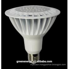 2015 sales UL Energy star aluminum LED PAR38 16W white silver 30 deg 120 deg COB SMD