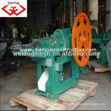 Chine fournisseur de haute vitesse à faible bruit machine à fabriquer des ongles (usine réelle avec des certificats)