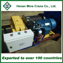 220V Electric Wire Rope Winch