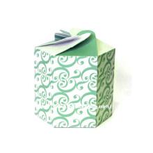 Роскошная коробка для еды из круглой бумаги