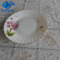 Opal Glass Spinning Soup Plate