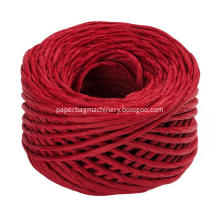 claret twisted paper rope
