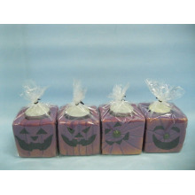 Artesanato de cerâmica de forma de vela de Halloween (LOE2372-A7z)