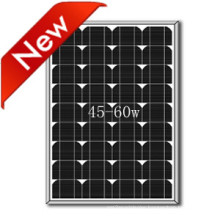 Monocrystalline Solar Panel 50W Small Size for Residential Application
