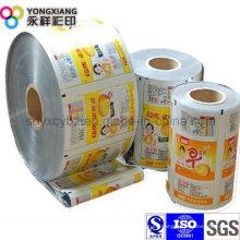 Snack Food Rollo de Película de Embalaje de Plástico con Material VMPET