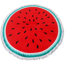 Sunbed Character Watermelon Beach Towel