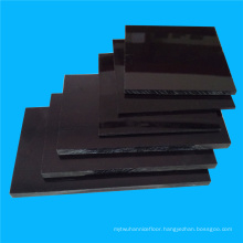 High Gloss Black ABS Sheet for Advertising Use