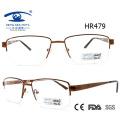 Neueste Stil Halbes Rahmen Metall Gläser Brillengestell (HR479)