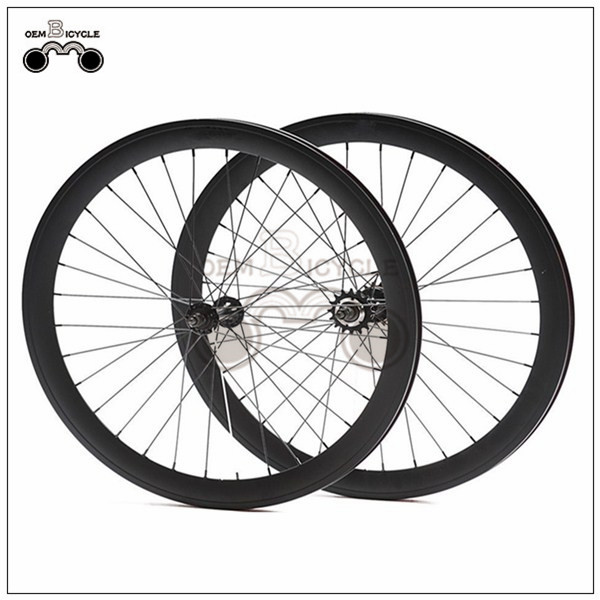 650C 45mm fix double-walled aluminum wheelset1