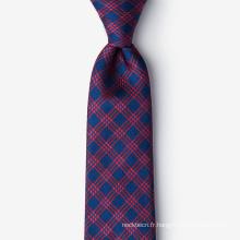 Cravates 100% soie tissées à la main en jacquard pour hommes