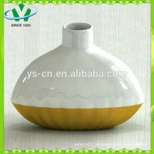 Elegante chinesische Gold-Keramik-Vasen Großhandel