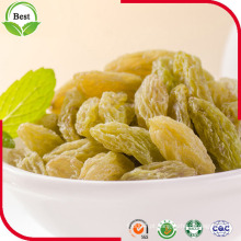 Preço baixo Ar secado 90% Green Raisin