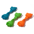 Nontoxic Tooth Cleaning Natural Rubber Bone pet toy