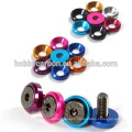 Aluminum alloy metal washer,Screw bolt , Color Countersunk
