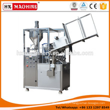 Epoxy glue aluminium tube filling and sealing machine