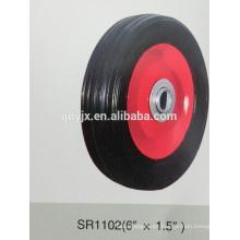 """rueda de goma sólida 6 """"X1.5"""""""